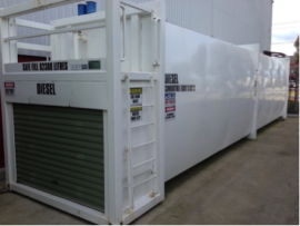 hire fuel tanks for generators