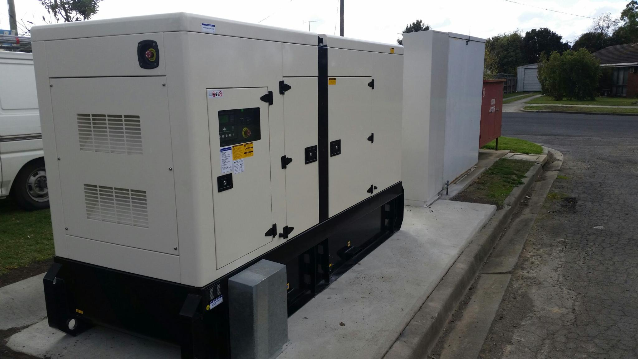 Supply & Install at Traralgon 150kVA standby generator